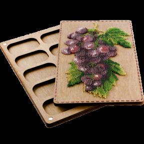 Органайзер с крышкой под вышивку бисером  Волшебная страна FLZB-072