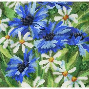 Набор для вышивания Permin (Blue cornflowers) 70-5363