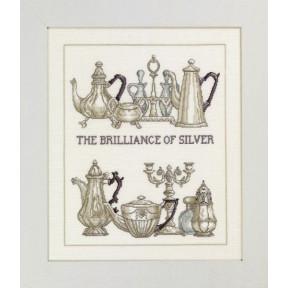 Набор для вышивания Permin Brilliant silver 70-3442