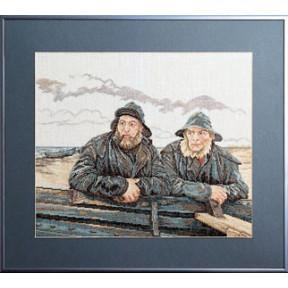 Набор для вышивания Permin Fisherman 70-1490