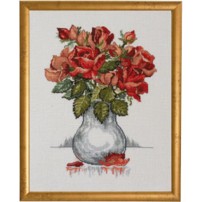 Набор для вышивания Permin Roses 70-0308