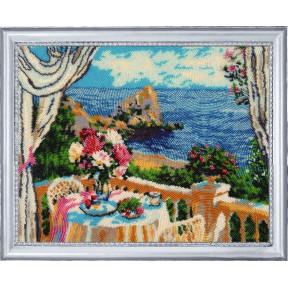 Набор для вышивания бисером Butterfly Завтрак с видом на море 300Б