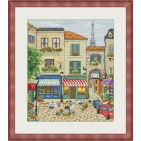 Набор для вышивания крестиком OLanTa Улицы Парижа VN-146