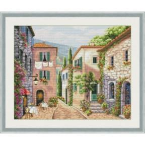 Набор для вышивания крестиком OLanTa Улицы Италии VN-147