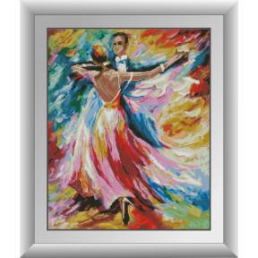 Набор для рисования камнями алмазная живопись Dream Art Танец любви (квадратные, полная) 30719D