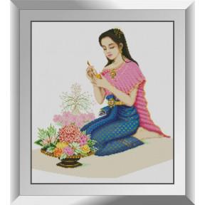 Набор для рисования камнями алмазная живопись Dream Art Фруктовая резьба (квадратные, полная) 31228D