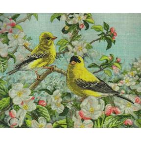 Набор для вышивания Bucilla 45576 Goldfinches фото