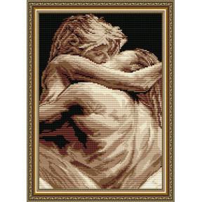 Набор для рисования камнями алмазная живопись ArtSolo Накал страстей AT3026