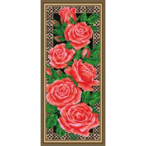 Набор для рисования камнями алмазная живопись ArtSolo Розы AT3201