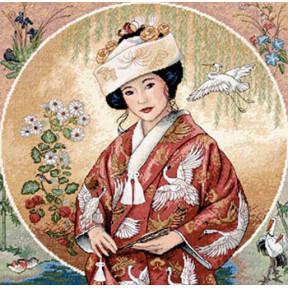Набор для вышивки крестом Dimensions 35109 Japanese Maiden