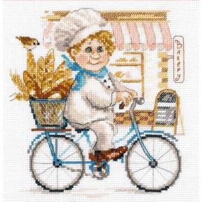 Набор для вышивки крестом Алиса Пекарь 6-10 фото