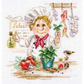 Набор для вышивки крестом Алиса Шеф-повар 6-11 фото