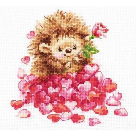Набор для вышивки крестом Алиса Любимка 0-211 фото