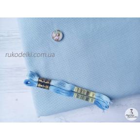 Канва голубая Ubelhor Австрия 265 Etamin (100% хлопок) 25ct. арт 265