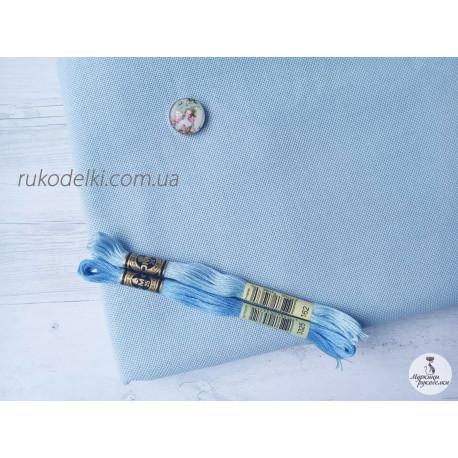 Канва голубая Ubelhor Австрия 265 Etamin (100% хлопок) 25ct.