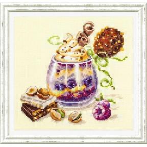 """Набор для вышивки крестом Чудесная игла """"Шоколадный десерт"""" 120-080"""