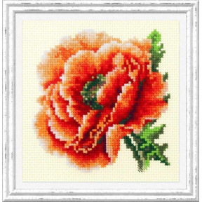 """Набор для вышивки крестом Чудесная игла """"Мак"""" 150-012"""