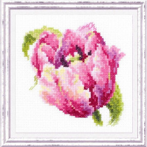 """Набор для вышивки крестом Чудесная игла """"Розовый тюльпан"""" 150-013"""