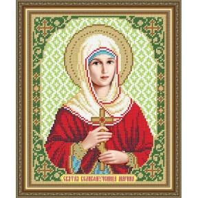 Схема на ткани для вышивания бисером ArtSolo Святая Великомученица Марина  VIA4179