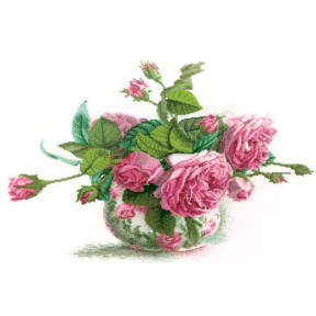 Набор для вышивки RTO M202 Романтические розы