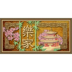 Схема на ткани для вышивания бисером ArtSolo Феншуй. Процветание в доме  VKA3109