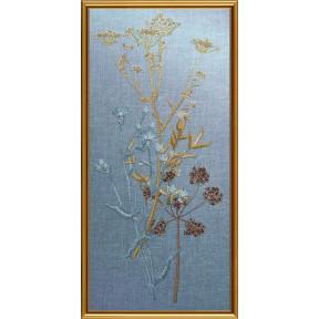 Набор для вышивания бисером и нитками Нова Слобода ЕМ-3002 Сухоцветы