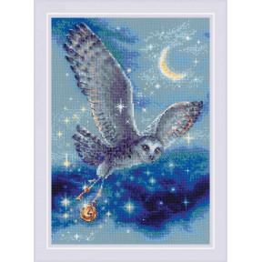 """Набор для вышивки крестом Риолис """"Волшебная сова"""" 1872"""