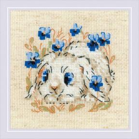 """Набор для вышивки крестом Риолис """"""""Маленький зайка"""" 1877"""