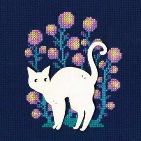 """Набор для вышивки крестиком RTO """"Кошка"""" CBE9001"""