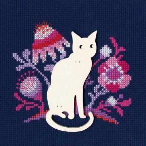 """Набор для вышивки крестиком RTO """"Кошка"""" CBE9005"""