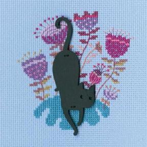 """Набор для вышивки крестиком RTO """"Кошка"""" CBE9006"""