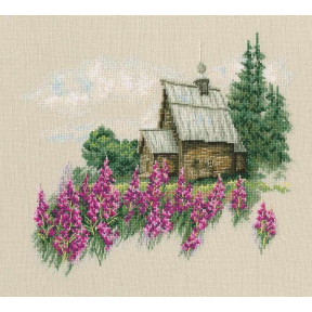 Набор для вышивки крестиком RTO Теплый мир цветущего лета M769