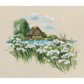 Набор для вышивки крестиком RTO Теплый мир цветущего лета M770