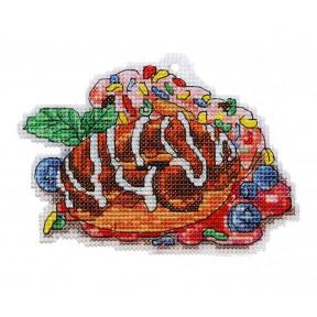 Набор для вышивки крестом Alisena Пироженко – Донатс 8035а фото