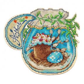 Набор для вышивки крестом Alisena Баночка – Апрель 5558а фото