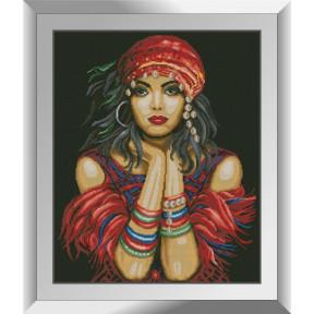 Набор алмазной живописи Dream Art Цыганка 31529D фото