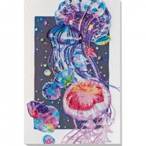 Набор для вышивки бисером Абрис Арт «Ночной танец» АВ-735