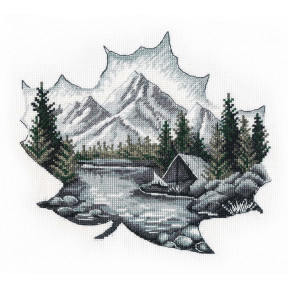 Набор для вышивки крестом Овен Наедине с природой 1296о