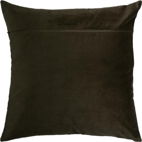 Обратная сторона наволочки для подушки Чарівниця VB-307 Кофе