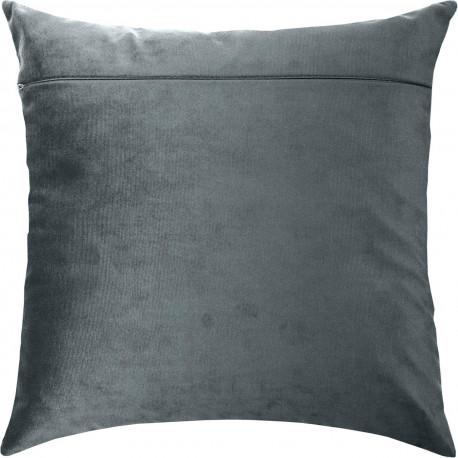Обратная сторона наволочки для подушки Чарівниця Серый