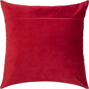 Обратная сторона наволочки для подушки Чарівниця Красное вино
