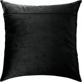 Обратная сторона наволочки для подушки Чарівниця Черный