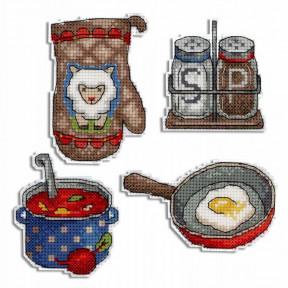 Набор для вышивки крестом МП Студия Приятного аппетита Р-466