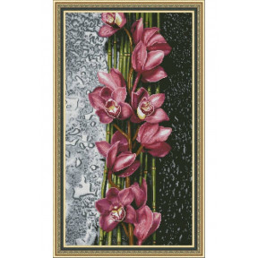 """Набор для вышивки крестом Dantel """"Орхидеи"""" 140 фото"""