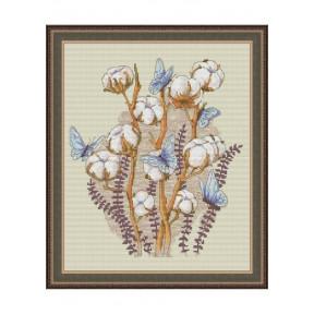 """Набор для вышивки крестом Dantel """"Хлопок и бабочки""""142 фото"""