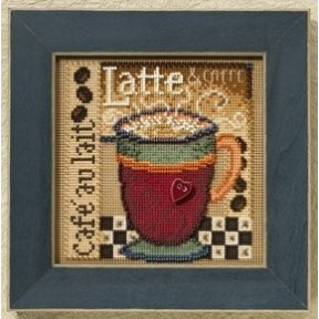 Набор для вышивания Mill Hill MH148205 Latte/Лате