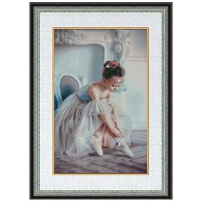 """Набор для вышивки крестом Dantel """"Балерина"""" 133 фото"""