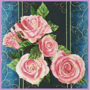 Набор для вышивания Картины Бисером Розы.Винтаж Р-420