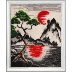Набор для вышивания бисером Butterfly Красное солнце  399Б