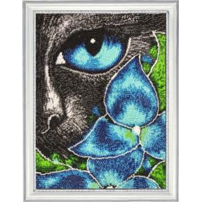 Набор для вышивания бисером Butterfly Кот Нуар 652Б